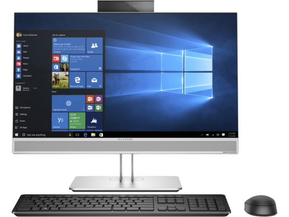 "HP EliteOne 800 G3 23.8"" All-in-One PC - Customizable - Center"