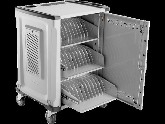 HP 32U Essential Charging Cart - Detail view