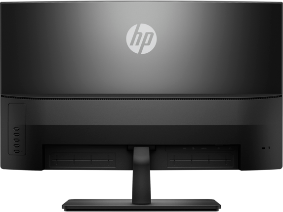 HP 27b Curved Display - Rear