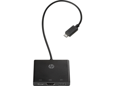 Concentrador HP USB-C a multipuerto
