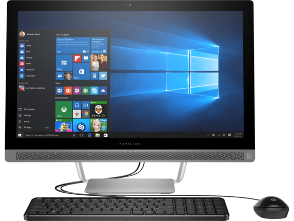 "HP Pavilion 24-b240qe 23"" FHD Core i5 Touchscreen All-in-One"