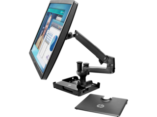 HP Hot Desk Stand