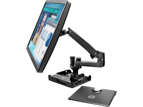 HP Hot Desk Stand - Center