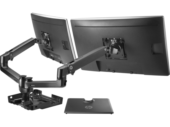 HP Hot Desk Stand - Rear