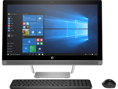 PC HP ProOne 490 G3 de 23.8 pulgadas, no táctil, All-in-One