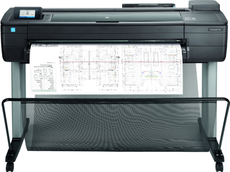 HP DesignJet T730 36-in Printer