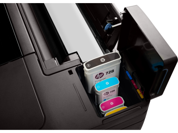 HP DesignJet T730 36-in Printer - Center
