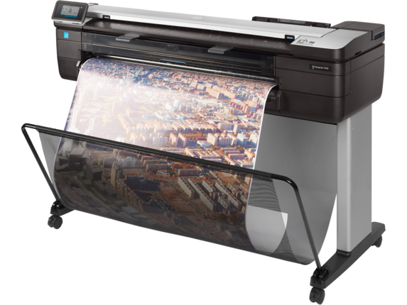 HP DesignJet T830 36-in Multifunction Printer - Left