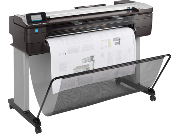 HP DesignJet T830 36-in Multifunction Printer - Right