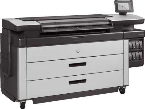 Blueprinter HP PageWide XL serie 5000