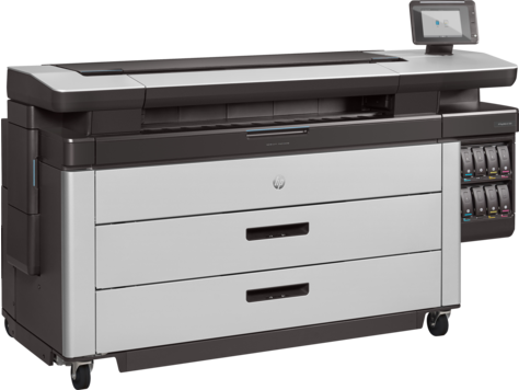 Blueprinter HP PageWide XL 8000