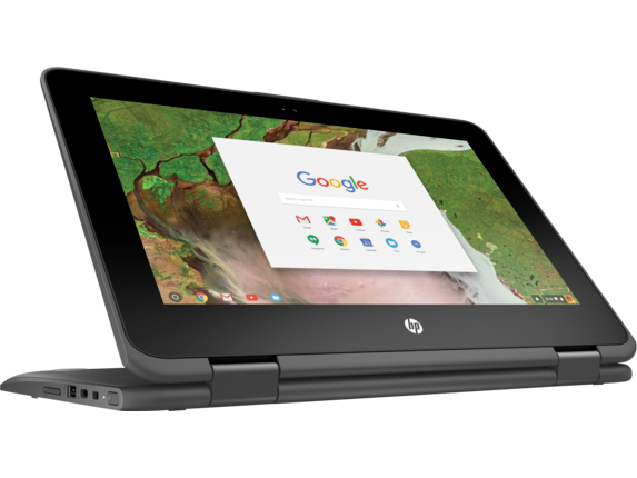 HP Chromebook x360 - 11-ae010nr - Right screen center