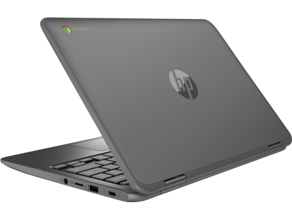 HP Chromebook x360 - 11-ae010nr - Left rear