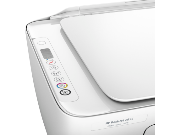 HP DeskJet 2655 All-in-One Printer - Detail view
