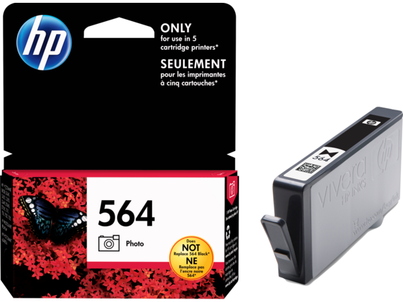HP 564 Photo Original Ink Cartridge - Right