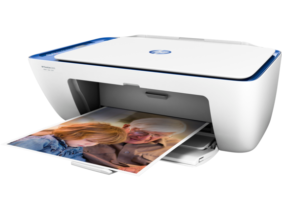 HP DeskJet 2655 All-in-One Printer - Left