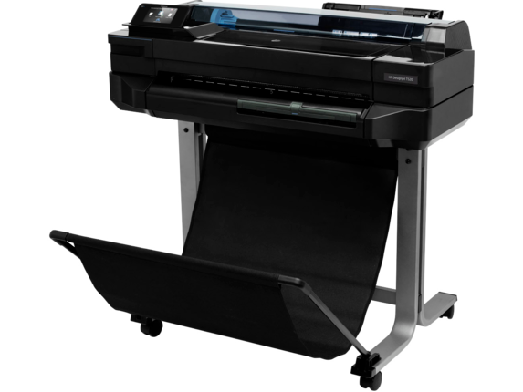 HP DesignJet T520 24-in Printer - Left rear