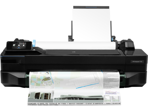 HP DesignJet T120 Printer Software and Driver Downloads | HP
