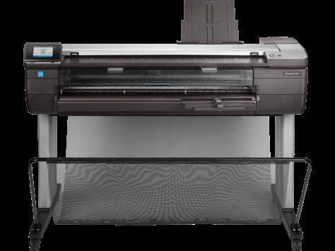 HP DesignJet T830 Çok İşlevli Yazıcı serisi