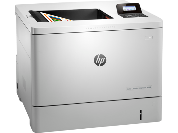 HP Color LaserJet Enterprise M553dn - Right