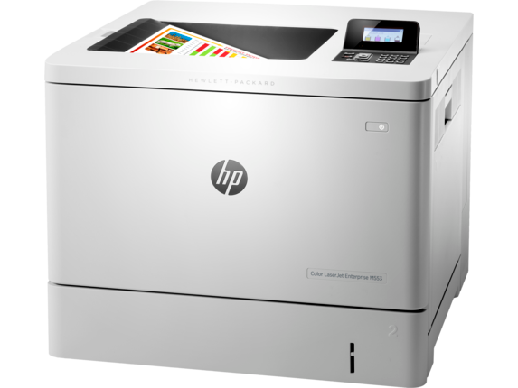 HP Color LaserJet Enterprise M553dn - Left
