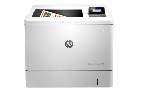 HP Color LaserJet Enterprise M553n - Center