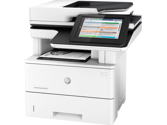 HP LaserJet Enterprise MFP M527dn - Left
