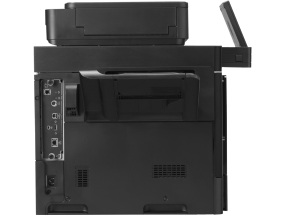 HP Color LaserJet Enterprise MFP M680dn - Rear