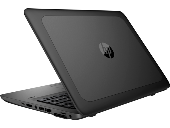 HP ZBook 14u G4 Mobile Workstation - Left rear