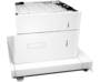 HP LaserJet 1x550-sheet and 2000-sheet HCI Feeder and Stand