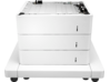 HP LaserJet 3x550-sheet Paper Feeder with Cabinet - Center