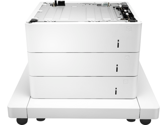 HP LaserJet 3x550-sheet Paper Feeder with Cabinet