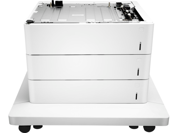 HP Color LaserJet 3x550-sheet Feeder and Stand