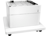 HP Color LaserJet 550-sheet Paper Tray with Stand - Right