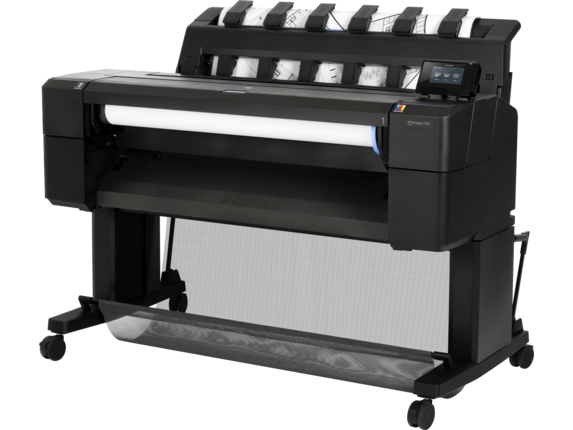 HP DesignJet T930 36-in PostScript Printer - Left