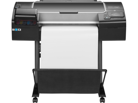 HP DesignJet Z2600 24-in PostScript Printer - Center