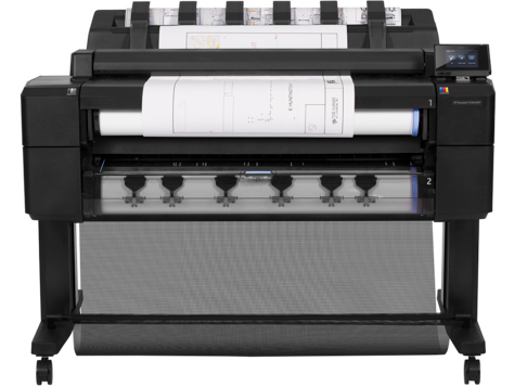 HP DesignJet T2500 Multifunktionsdruckerserie