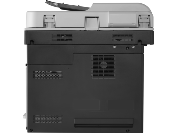 HP LaserJet Enterprise MFP M725dn - Rear