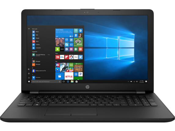 HP Notebook - 15-bs121nr - Center