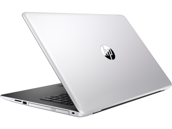 HP Laptop - 17-ak051nr - Left rear