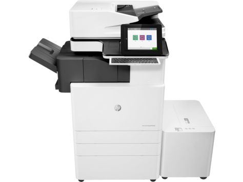 Серия HP Color LaserJet Managed MFP E87640-E87660