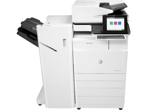 HP LaserJet Managed MFP i E72520-E72540-serien
