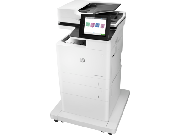 HP LaserJet Enterprise MFP M632fht - Left