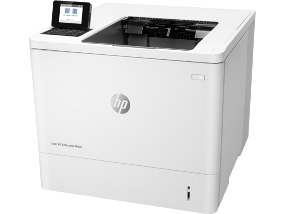 HP LaserJet Enterprise M608dn - Left
