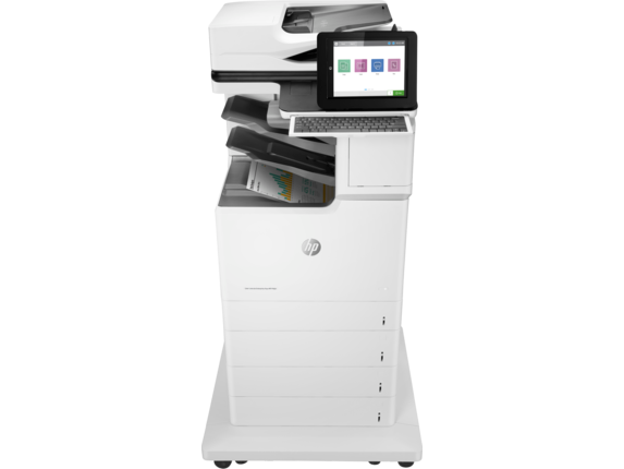 HP Color LaserJet Enterprise Flow MFP M681z - Center