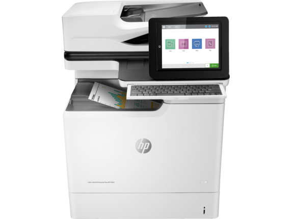 HP Color LaserJet Enterprise Flow MFP M681f - Center