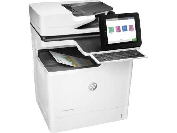 HP Color LaserJet Enterprise Flow MFP M681f - Right