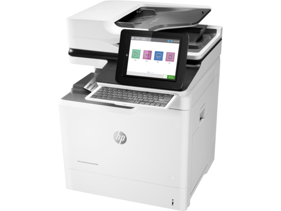 HP Color LaserJet Enterprise Flow MFP M681f - Left