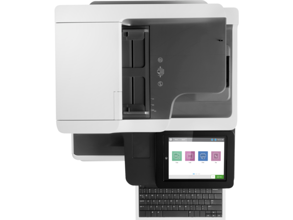 HP Color LaserJet Enterprise Flow MFP M681f - Top view closed