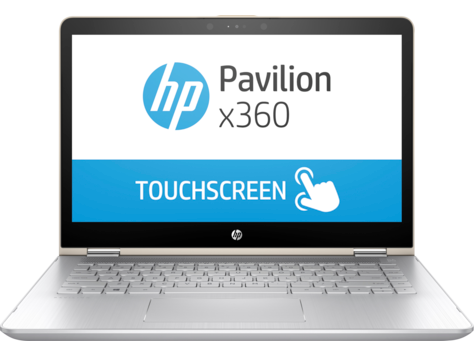 HP Pavilion 14-ba100 x360 konvertibel PC